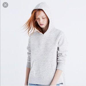 Madewell Side Slit Hooded Sweatshirt